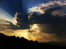 sundown Fotos de Stock Royalty Free