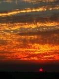 sundown Стоковые Фото