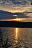 sundown Royalty-vrije Stock Fotografie