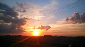 sundown Imagem de Stock