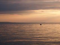 sundown stock foto