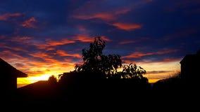 sundown Stock Afbeelding