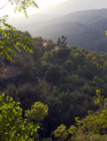Sundown in the Alpujarra Mountains Royalty Free Stock Photo