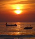 Sundown at Colva Stock Images