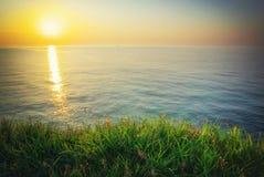 Sundown composition. Royalty Free Stock Photo