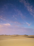 Sundown in the Dunes Royalty Free Stock Photography