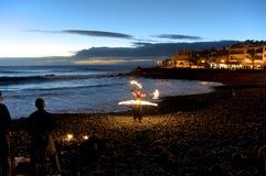 Sundown on La Gomera Royalty Free Stock Photo