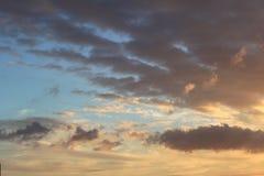 Sundown Photography of Cloudy Sky Stock Image