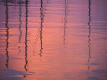 Sundown Reflections Royalty Free Stock Photography