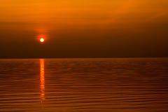 Sundown scene Stock Photos