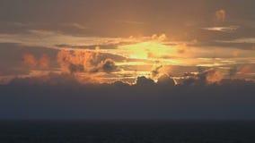 Sundown at sea. Video of sundown at sea stock footage