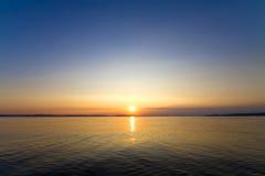 Sundown seascape Stock Images
