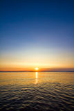 Sundown seascape Royalty Free Stock Photos