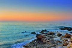Sundown Seascapes Royalty Free Stock Images