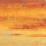 Sundown themed background with circular grid Stock Photo