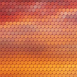 Sundown themed background with circular grid Royalty Free Stock Image