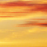 Sundown themed background with triangular grid Royalty Free Stock Image