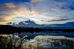 Sundown royalty free stock image