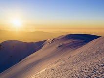 Sundown view Stock Image