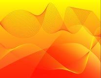 sundownwaves Royaltyfri Bild