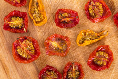 Sundried cherry tomatoes Stock Images