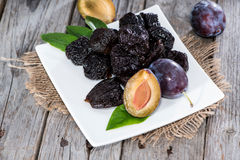 Sundried Plums Stock Photography