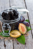 Sundried Plums Stock Photo
