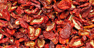 Sundried red tomatoes Stock Photo
