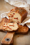 Sundried tomato bread Stock Images
