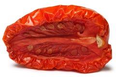 Sundried tomato half Royalty Free Stock Images