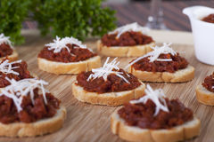 Sundried Tomato Tapenade Royalty Free Stock Photography
