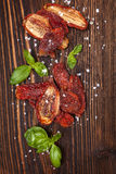 Sundried tomatoes. Royalty Free Stock Photography