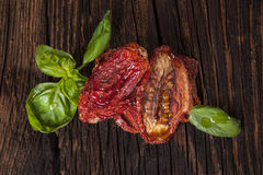 Sundried tomatoes. Royalty Free Stock Images