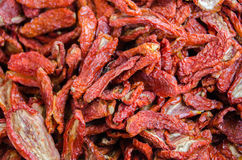 Sundried tomatoes Royalty Free Stock Photos