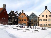 Sundsvall, noordelijk Zweden Royalty-vrije Stock Afbeelding