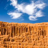 Sundy desert landscape Royalty Free Stock Images