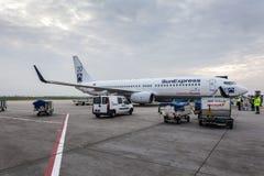 SunExpress Boeing 737-800 flygplan Royaltyfri Foto