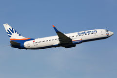 SunExpress Boeing 737-800 Stock Images