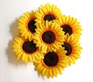 Sunflower Arrangement. An arrangement of artificial sunflowers Royalty Free Stock Photography