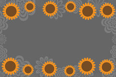 Sunflower background Royalty Free Stock Photography