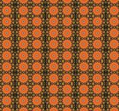 Sunflower background. Patterned orange and brownish background Royalty Free Stock Image