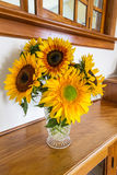 Sunflower Bouqet Stock Image