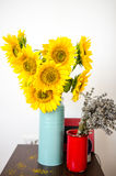 Sunflower bouquet Royalty Free Stock Photos