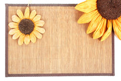 Sunflower decoration Stock Photo
