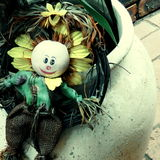 Sunflower decoration Royalty Free Stock Image