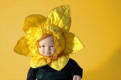 Sunflower Doll Stock Photos