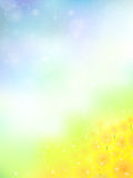 Sunflower flower background landscape Stock Image