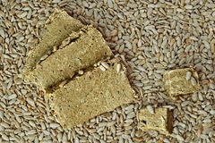 Sunflower halva Stock Image