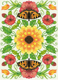 Sunflower. Royalty Free Stock Photo