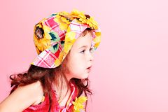 Sunflower hat Stock Photography